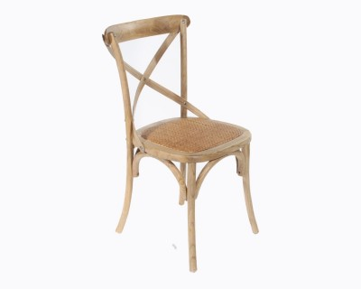 CROSS BACK BISTRO CHAIR